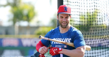 Bryce Harper Philadelphia Phillies MLB Spring Training