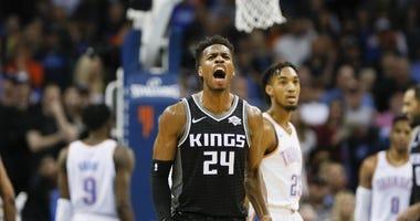 Buddy Hield Sacramento Kings Oklahoma City Thunder NBA