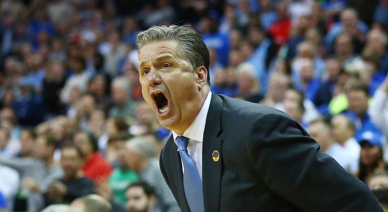 John Calipari Houston Kentucky NCAA Tournament