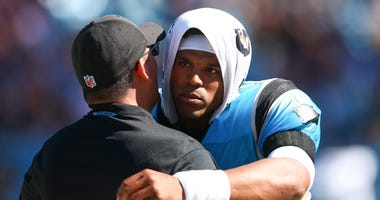 Cam Newton Panthers Patriots