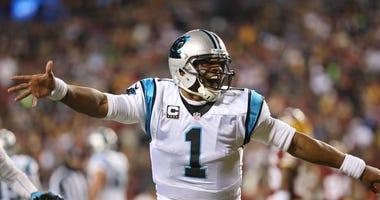 Cam Newton Panthers Patriots