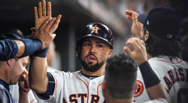 Carlos Beltran Astros