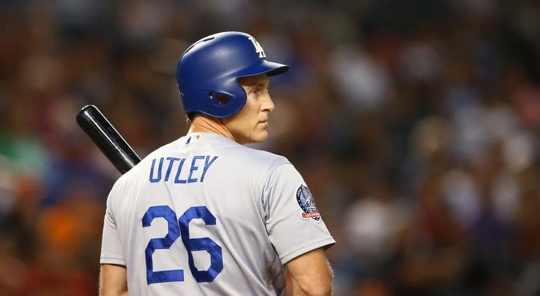 Chase Utley Los Angeles Dodgers