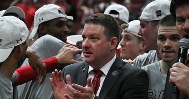 Chris Beard Texas Tech Elite Eight