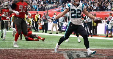 Christian McCaffrey Panthers