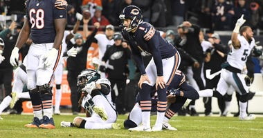 Cody Parkey Bears Kicker Wild Card