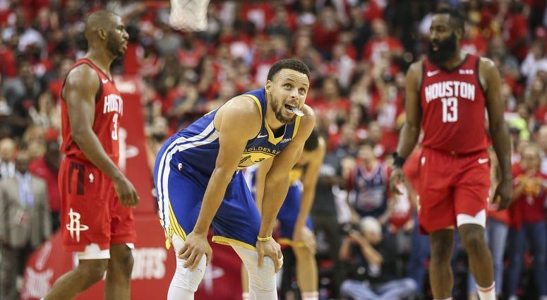 Steph Curry James Harden NBA Playoffs