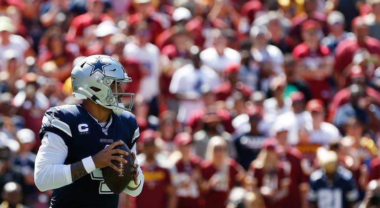 Dak Prescott Cowboys NFL
