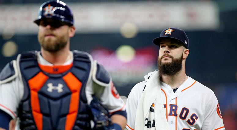 Dallas Keuchel Houston Astros MLB
