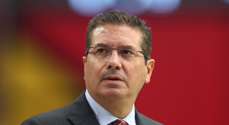 Dan Snyder Washington Redskins