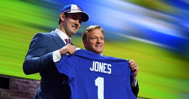Daniel Jones New York Giants NFL Draft