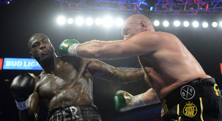 Deontay Wilder Tyson Fury Boxing