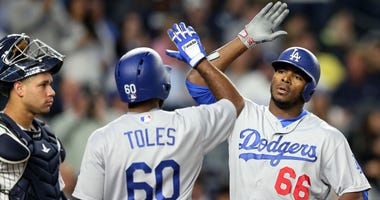 MLB: Los Angeles Dodgers at New York Yankees