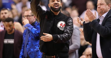 Drake Raptors Bucks NBA Playoffs