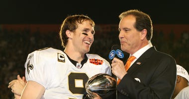 Drew Brees Saints Super Bowl