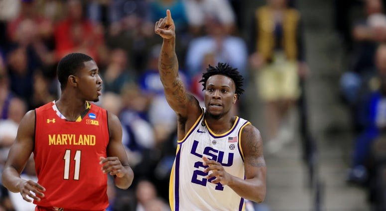 Emmitt Williams LSU Maryland NCAA Tournament