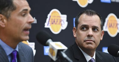 Frank Vogel Rob Pelinka Lakers