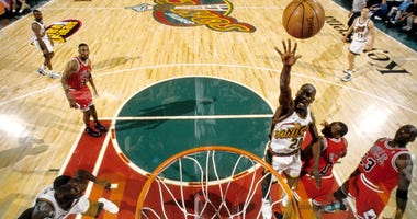 Gary Payton Seattle NBA Finals