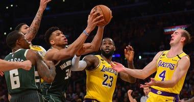 LeBron Giannis NBA