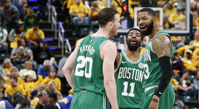 Gordon Hayward Boston Celtics NBA Playoffs