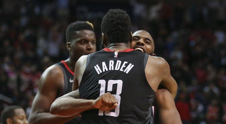 James Harden Chris Paul NBA Houston Rockets