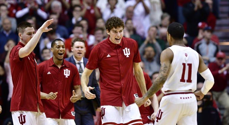 Indiana Michigan State Big Ten College Basketball