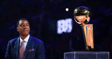 Detroit Pistons Isiah Thomas