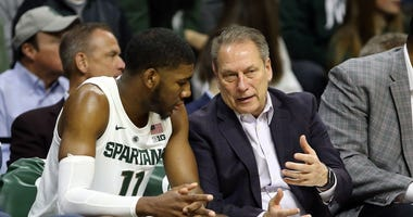 Tom Izzo Aaron Henry Michigan State