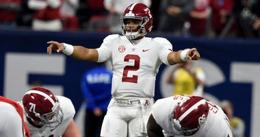 Jalen Hurts Alabama SEC Championship