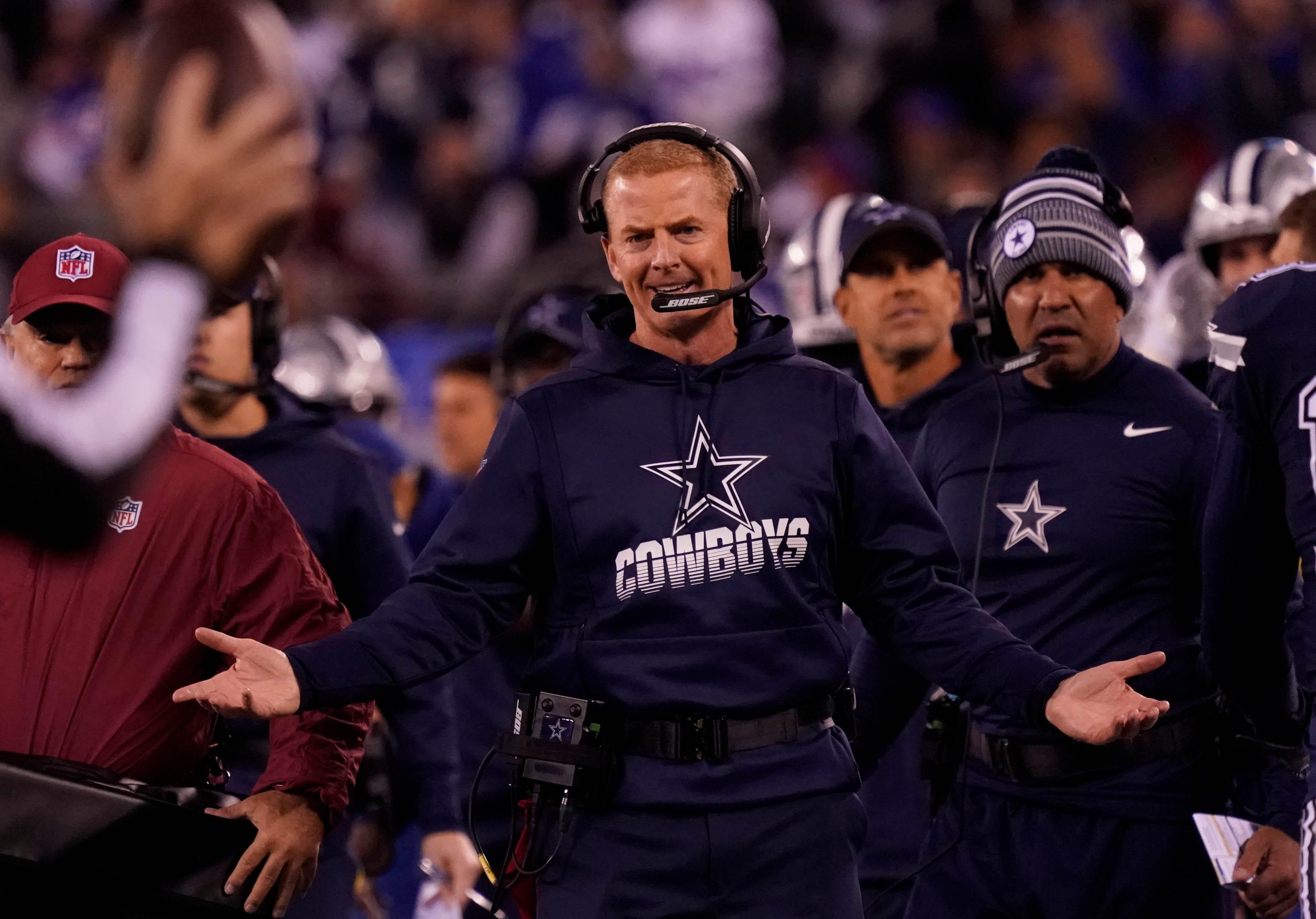 Jason Garrett Dallas Cowboys Lose Fraud Bowl To Vikings
