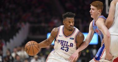 Jimmy Butler Philadelphia 76ers