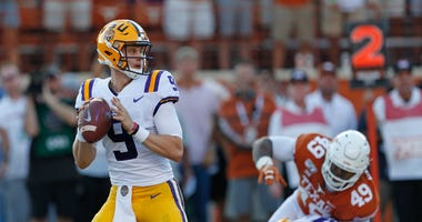 Joe Burrow LSU Texas