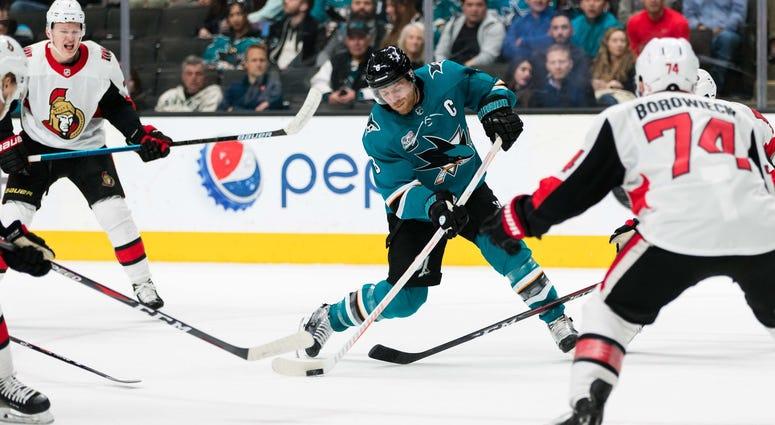 Joe Pavelski San Jose Sharks
