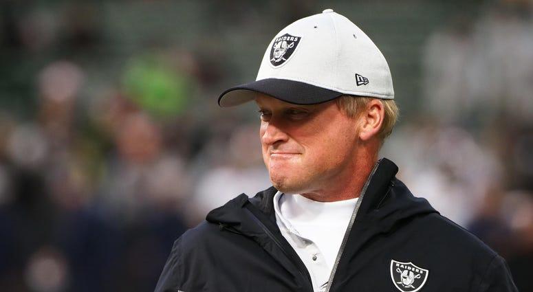 Jon Gruden Oakland Raiders NFL