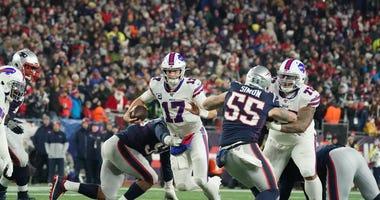Josh Allen Bills Patriots