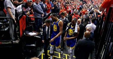 Kevin Durant Injury NBA Finals Game 5