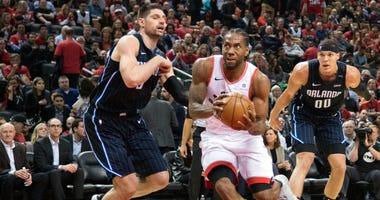 Kawhi Leonard Toronto Raptors Orlando Magic NBA Playoffs