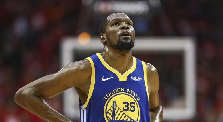 Kevin Durant Golden State Warriors NBA Playoffs