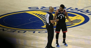 Kyle Lowry Raptors Warriors Push NBA Finals Game 3