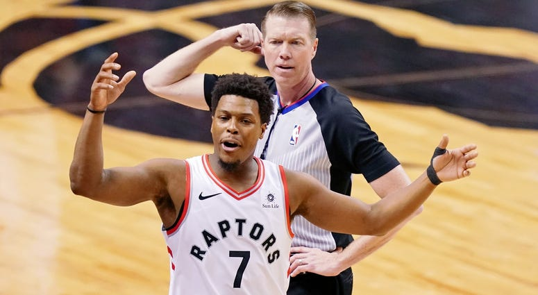 Kyle Lowry Raptors NBA Finals Game 2