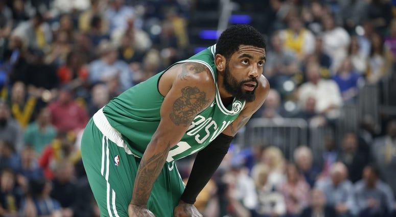 Kyrie Irving Boston Celtics NBA Playoffs