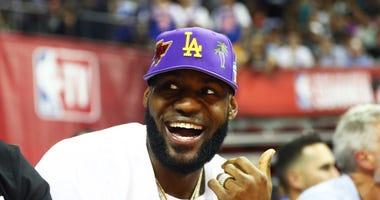 LeBron James Anthony Davis Lakers