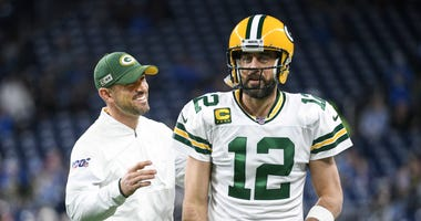 Matt LaFleur Aaron Rodgers Packers