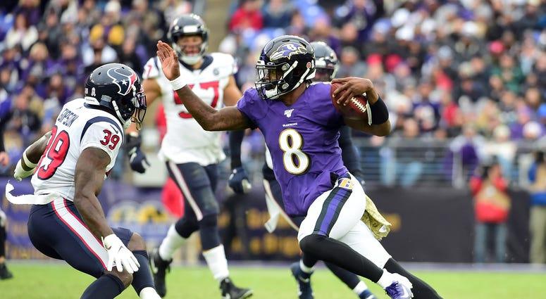 Lamar Jackson Ravens