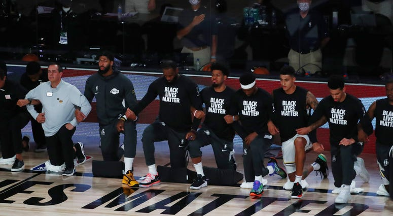 Lakers Anthem Protest
