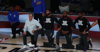 LeBron James Lakers Black Lives Matter