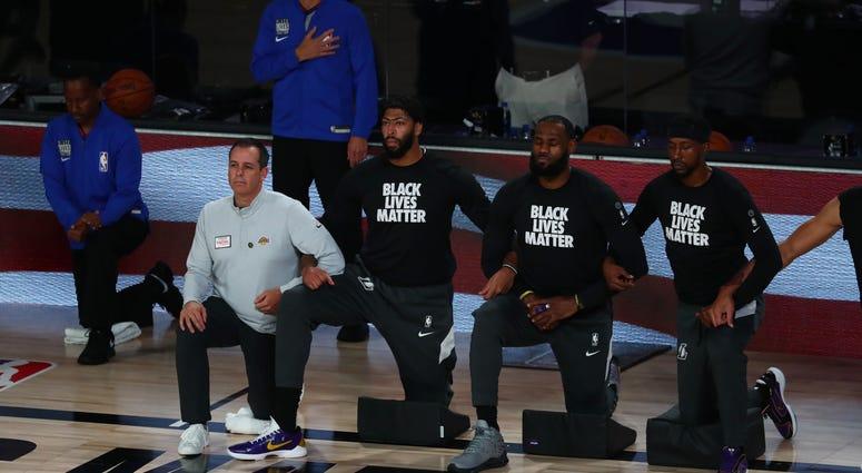 LeBron James Lakers Black Lives Matter