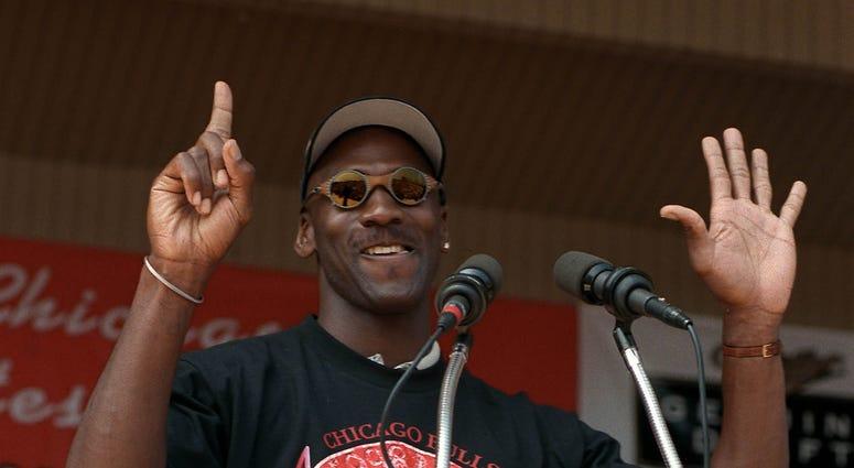 Michael Jordan 1998 Bulls