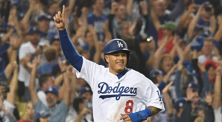 Manny Machado San Diego Padres Los Angeles Dodgers World Series