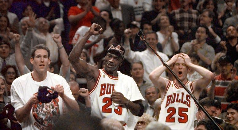 Steve Kerr Michael Jordan